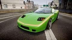 Invetero Coquette Roadster para GTA 4