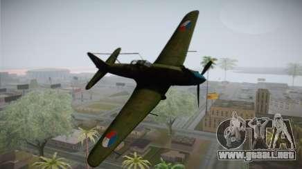 ИЛ-10 de la Fuerza Aérea checa para GTA San Andreas