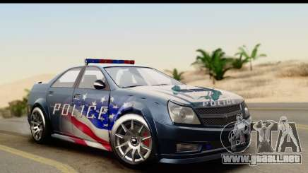 EFLC TBoGT Albany Police Stinger IVF para GTA San Andreas
