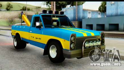 Nissan Junior 1982 Pickup Towtruck para GTA San Andreas