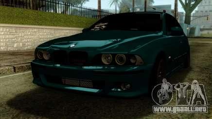 BMW 540 E39 Accuair para GTA San Andreas