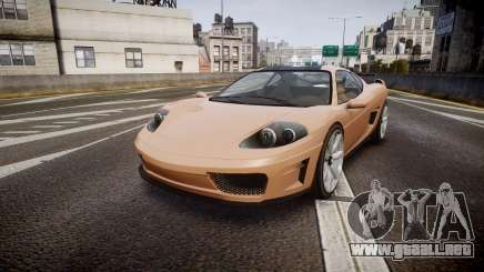 Grotti Turismo GT Carbon para GTA 4
