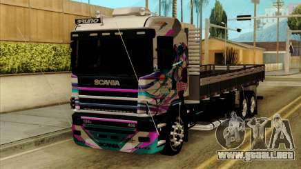Scania 124G R400 Hatsune Miku Livery para GTA San Andreas