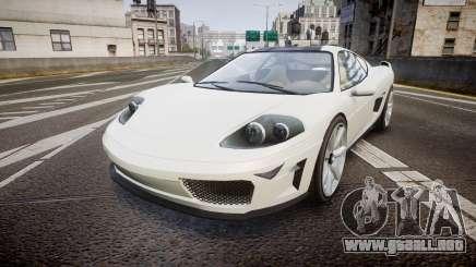 Grotti Turismo GT Carbon v2.0 para GTA 4