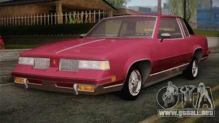 Oldsmobile Cutlass 1987 v2.2 para GTA San Andreas
