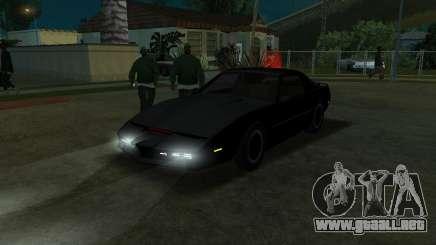K.i.T.T. 2000 para GTA San Andreas