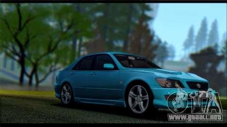 Pavanjit ENB v2 para GTA San Andreas octavo de pantalla