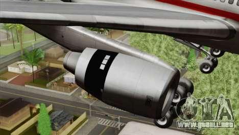 Lookheed L-1011 LTU Intl para la visión correcta GTA San Andreas
