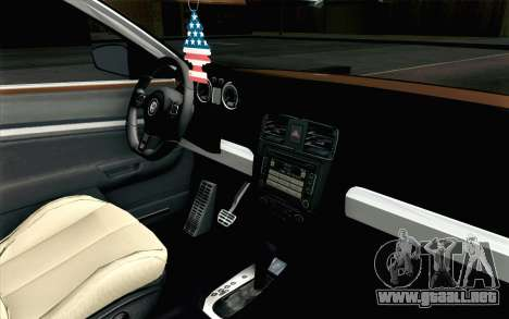 Volkswagen Jetta Air para la visión correcta GTA San Andreas