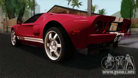 Ford GT FM3 Rims para GTA San Andreas left