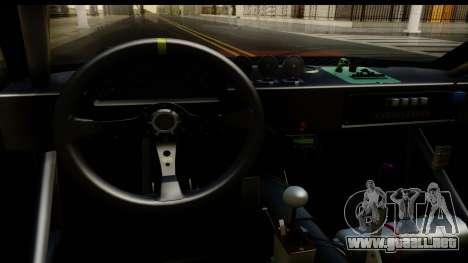 Drift Elegy Edition para visión interna GTA San Andreas
