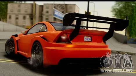 GTA 5 Benefactor Feltzer para GTA San Andreas left