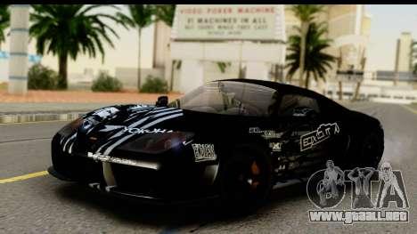 Noble M600 2010 HQLM para el motor de GTA San Andreas