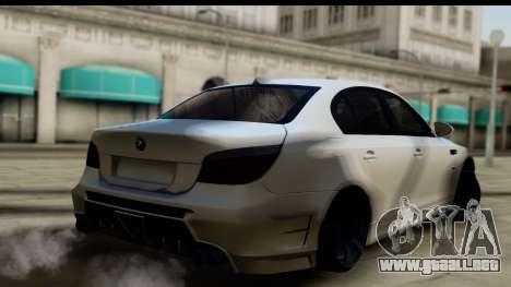 BMW M5 E60 para GTA San Andreas left