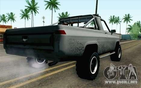 Pickup from Alan Wake para GTA San Andreas left