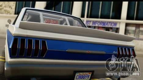 GTA 5 Vapid Blade v2 IVF para la visión correcta GTA San Andreas