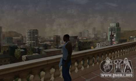 ENB Series by Hekeemka para GTA San Andreas sucesivamente de pantalla