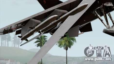 F-16C Block 52 PJ para la visión correcta GTA San Andreas