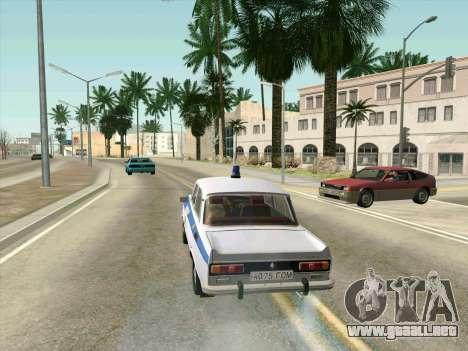 Moskvich 2140 Policía para visión interna GTA San Andreas