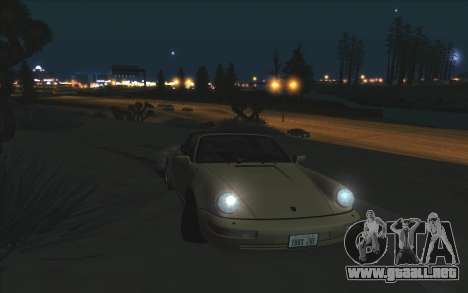 Agradable ColorMod para GTA San Andreas octavo de pantalla