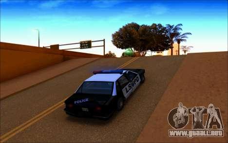 Enb Series Baixos Recursos para GTA San Andreas sucesivamente de pantalla
