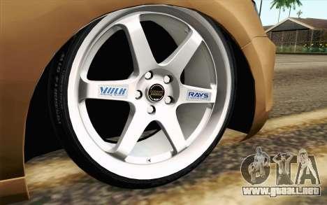 Volkswagen Jetta Air para GTA San Andreas vista posterior izquierda