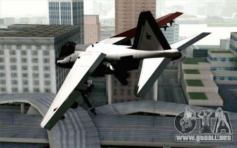 Hydra ADFX-02 Pixy para GTA San Andreas left