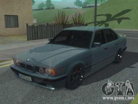 BMW 525 E34 Tune para GTA San Andreas