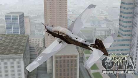 Embraer A-29B Super Tucano Marines para GTA San Andreas left