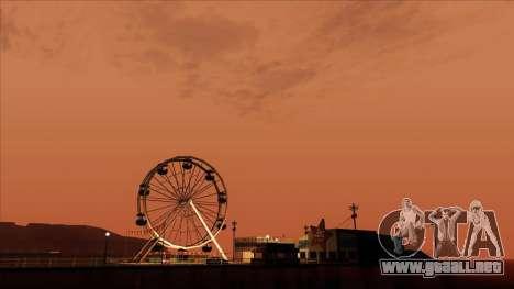 ENB Gamerealfornia v1.00 para GTA San Andreas quinta pantalla