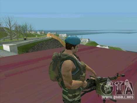 Depósito de armas de la Médula para GTA San Andreas tercera pantalla