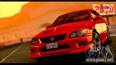 Pavanjit ENB v2 para GTA San Andreas segunda pantalla