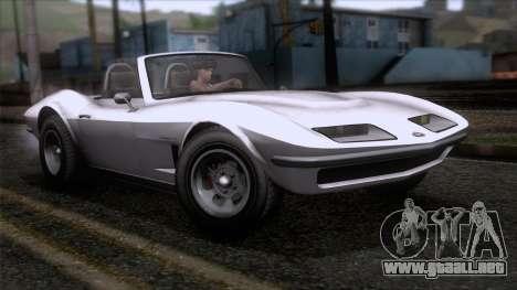 GTA 5 Invetero Coquette Classic TL SA Mobile para GTA San Andreas