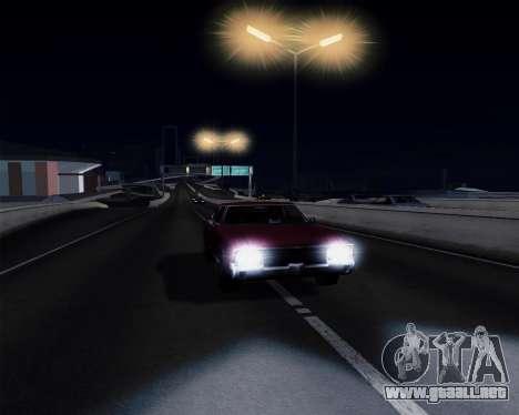 Medium ENBseries v1.0 para GTA San Andreas quinta pantalla