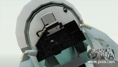 Sukhoi SU-27 PMC Reaper Squadron para la visión correcta GTA San Andreas