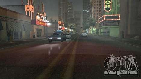 Carretera Reflexiones Fix 1.0 для GTA San Andrea para GTA San Andreas quinta pantalla