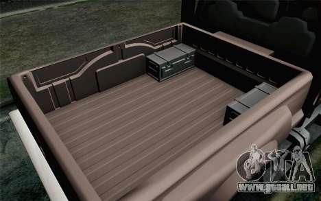 Vapid Guardian GTA 5 para la visión correcta GTA San Andreas