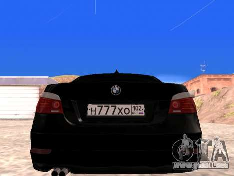 BMW 525i (e60) para la visión correcta GTA San Andreas