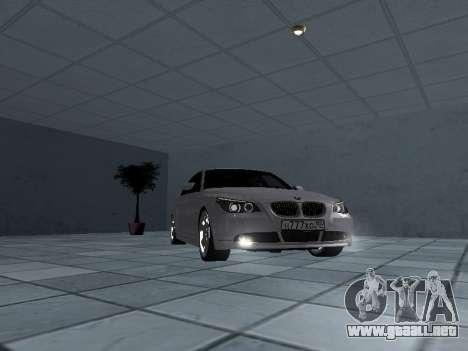 BMW 525i (e60) para GTA San Andreas vista hacia atrás