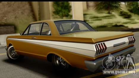GTA 5 Vapid Blade SA Mobile para GTA San Andreas left