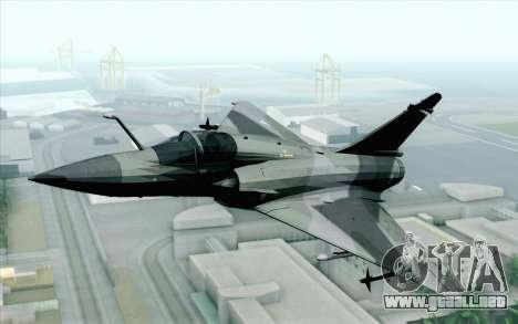 Dassault Mirage 2000 ISAF para GTA San Andreas