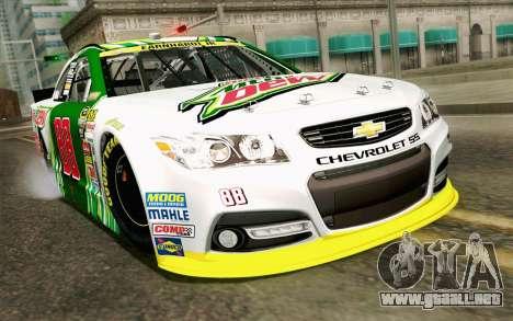 NASCAR Chevrolet SS 2013 v4 para GTA San Andreas