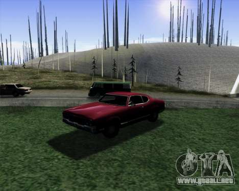 Medium ENBseries v1.0 para GTA San Andreas sucesivamente de pantalla