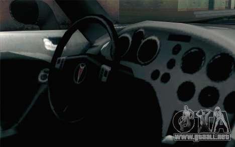 Pontiac Solstice para la visión correcta GTA San Andreas