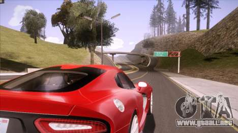 ENB Sunreal para GTA San Andreas quinta pantalla
