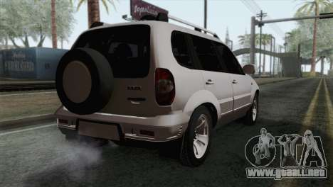 Chevrolet Niva para GTA San Andreas left