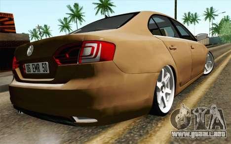 Volkswagen Jetta Air para GTA San Andreas left