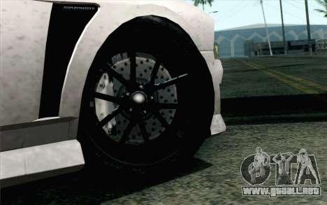 GTA 5 Bravado Buffalo S v2 IVF para GTA San Andreas vista posterior izquierda