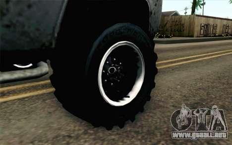 Pickup from Alan Wake para GTA San Andreas vista posterior izquierda
