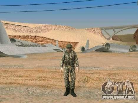 Cine de las fuerzas especiales de la URSS para GTA San Andreas sexta pantalla